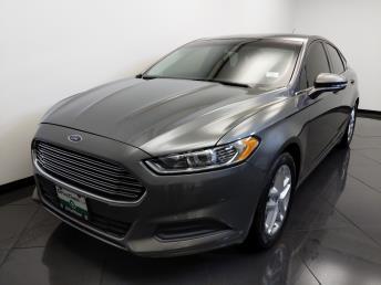 2013 Ford Fusion SE - 1660013944