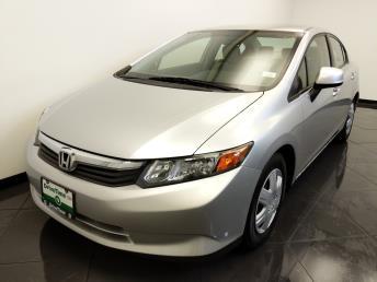 2012 Honda Civic LX - 1660014094