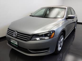Used 2013 Volkswagen Passat