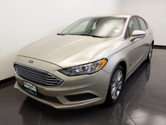 2017 Ford Fusion SE Hybrid - 1660014677