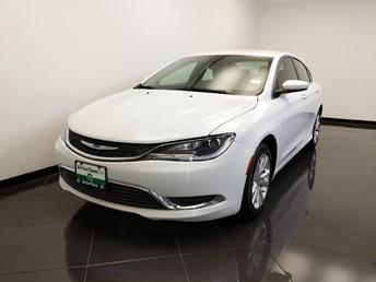 2015 Chrysler 200 Limited - 1660015199