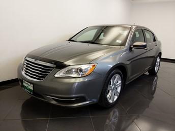 2012 Chrysler 200 LX - 1660015389