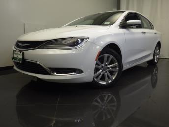 2016 Chrysler 200 Limited - 1670008334