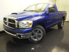 2007 Dodge Ram 1500 Regular Cab SLT 6.25 ft