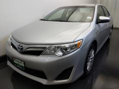 2012 Toyota Camry LE Hybrid