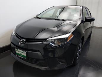 2016 Toyota Corolla LE - 1730034429