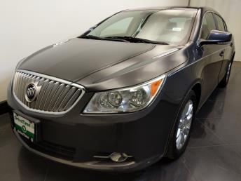 Used 2012 Buick LaCrosse