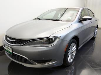 2016 Chrysler 200 Limited - 1730035373