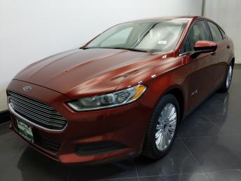 2014 Ford Fusion S Hybrid - 1730036123