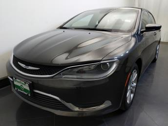 2015 Chrysler 200 Limited - 1730036327