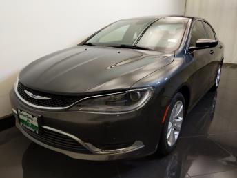 2015 Chrysler 200 Limited - 1730037488