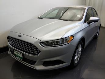 2016 Ford Fusion S - 1730037517