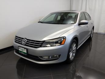 2013 Volkswagen Passat 2.5L SEL Premium - 1770007979